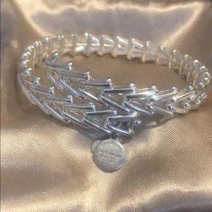 Alex and Ani silver bracelet, brand new!